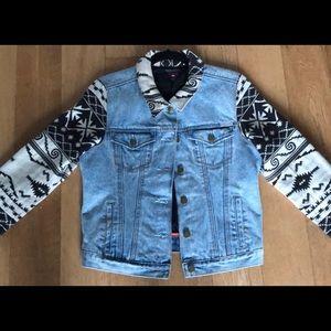 Maison Scotch lined Denim jacket
